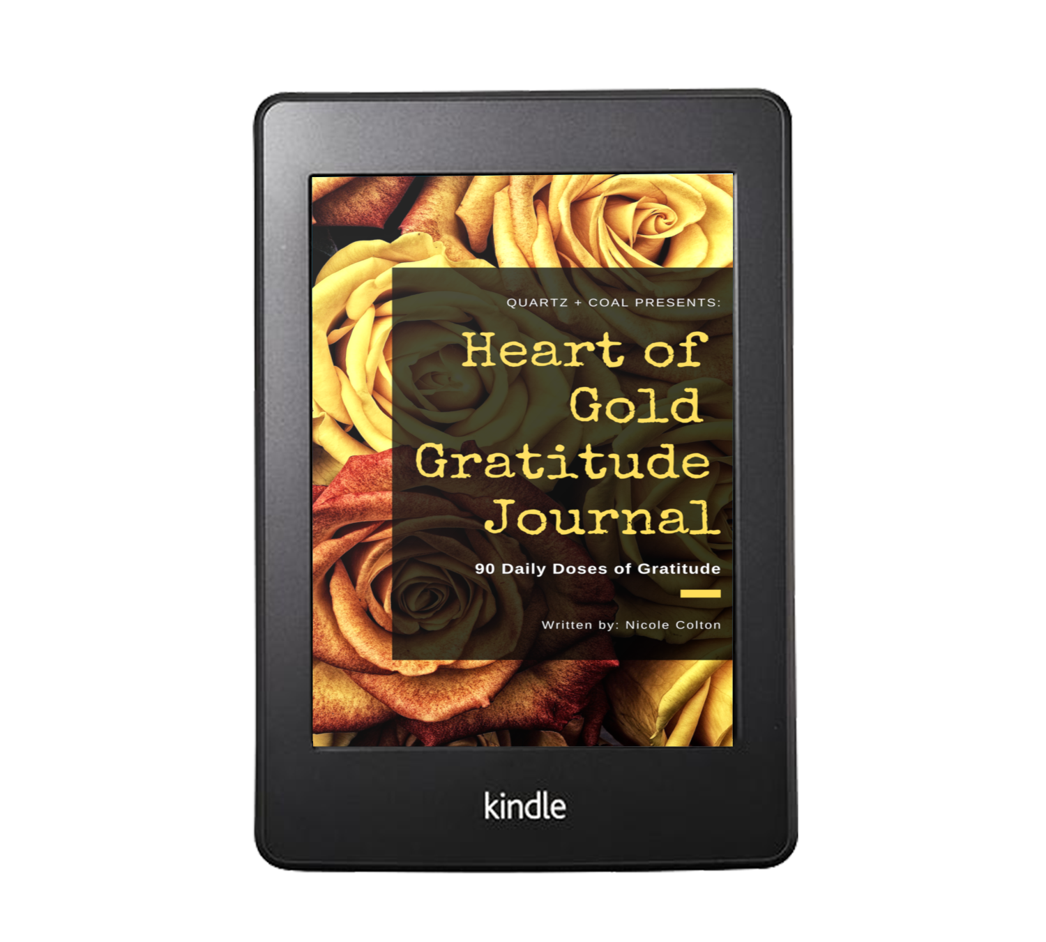Heart of Gold Gratitude Journal (Digital)  [PRE-ORDER - Available June 15]