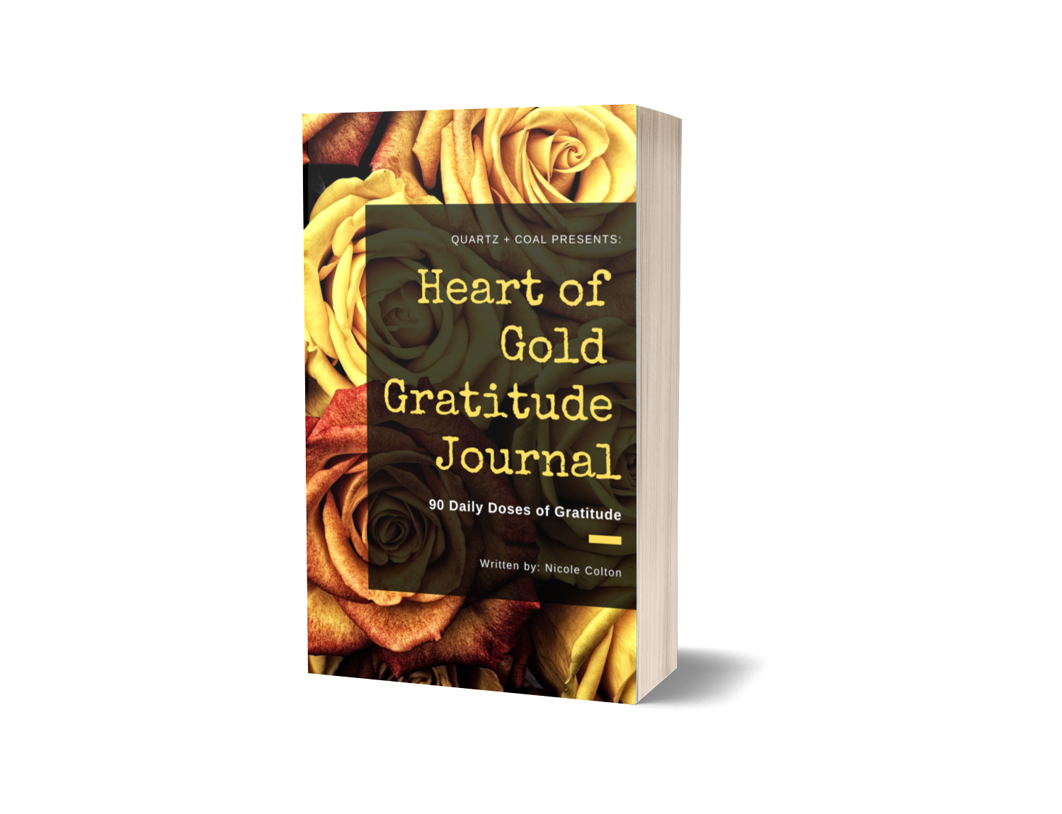 Heart of Gold Gratitude Journal  [PRE-ORDER - Available June 15]