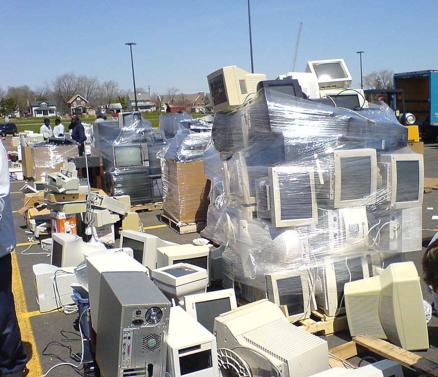 E-Waste to be Recycled