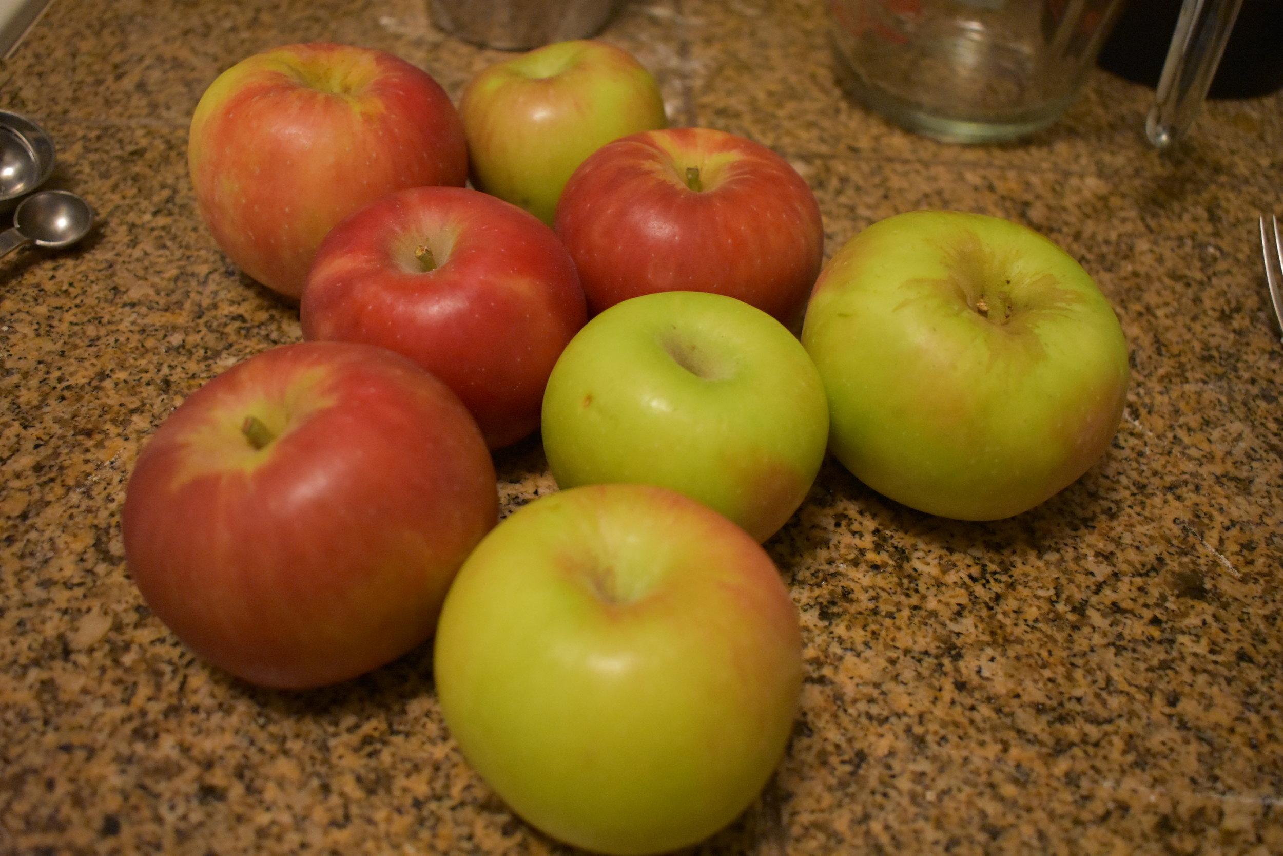 6-8 Tart Apples