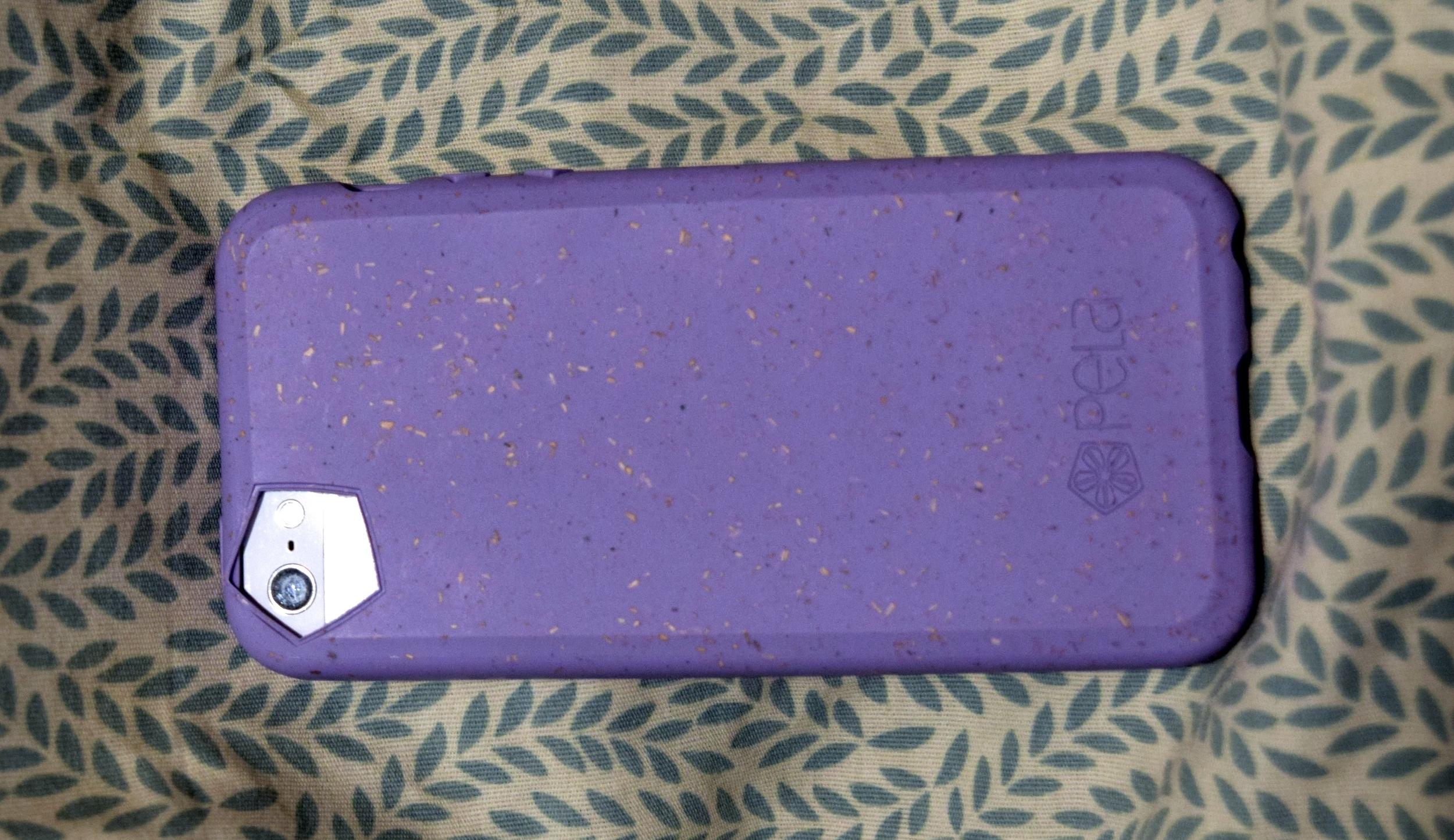 My original Pela Case, for my iPhone 5