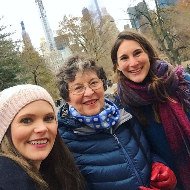 Very thankful for such an amazing weekend in NYC with some of my favorite ladies! #girlstrip #family #nyc