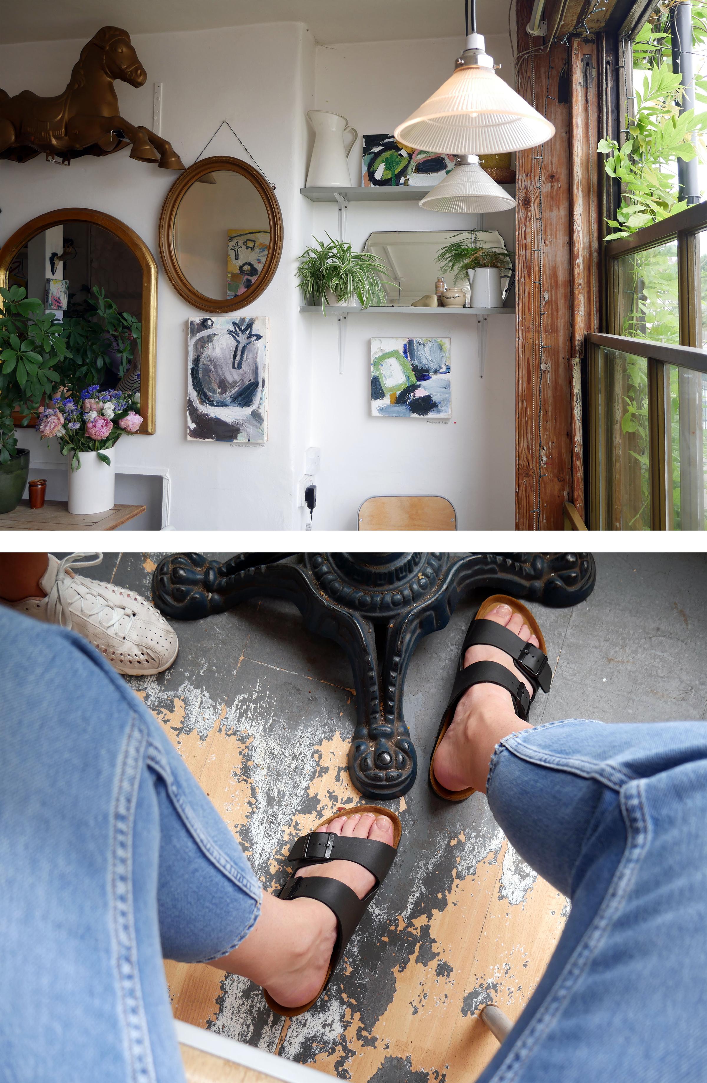 (Jeans: &otherstories - Shoes: Birkenstocks)