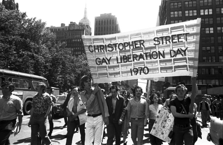 Christopher Street Liberation Day March, 1970 (Photo by Diana Davies, courtesy of New York Public Library)