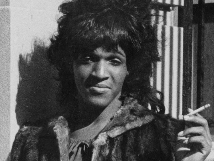 Marsha P. Johnson (Photo by Diana Davies, courtesy of New York Public Library).