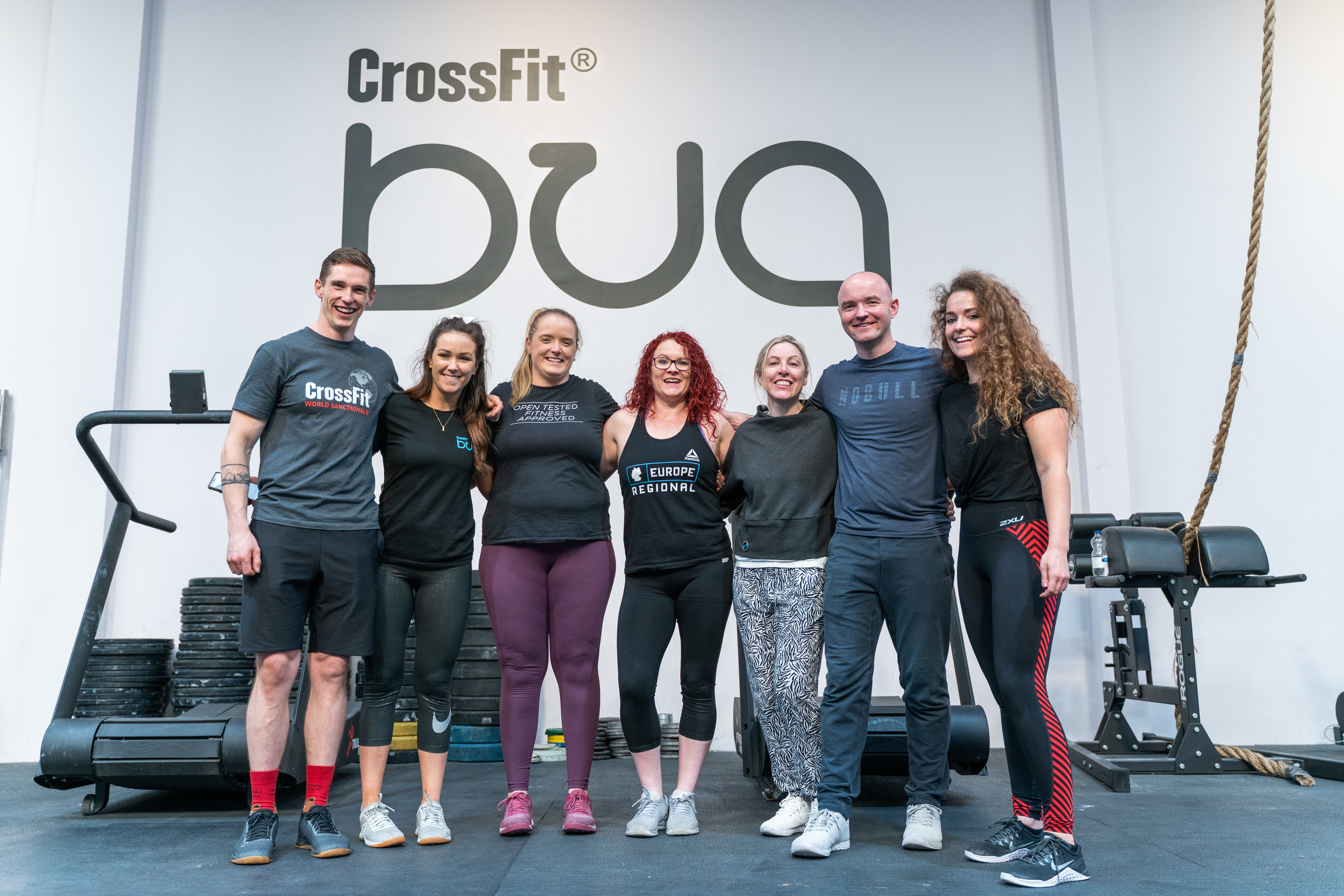 Meet our team… #filthyready   Christopher - Head of Judging & Logistics  SarahAnn - Head of Media  Doreen - Head of Athlete & Volunteer Control  Sharon - Head of Scoring & Technology  Darina - Head of Commercial Strategy  Jamie - Director  Briony - Head of Event Management  Missing - Georgia - Head of Athlete Care     Now bring your team in November, we cant wait to meet you!