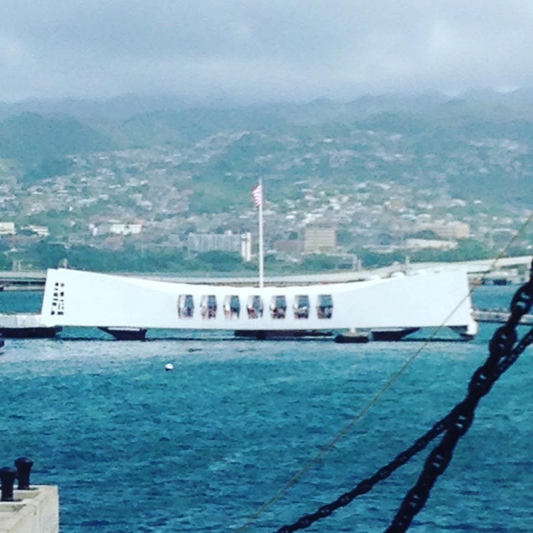 USS ARIZONA Memorial, Pearl Harbor, HI