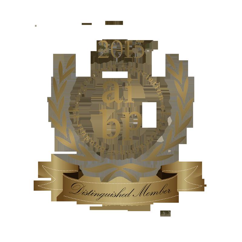 AIBP Distingquished Member Seal 2015.png