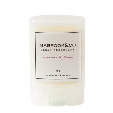 Mabrook & Co.Lemon & Rose Travel Size Deodorant - On Sale $6.29