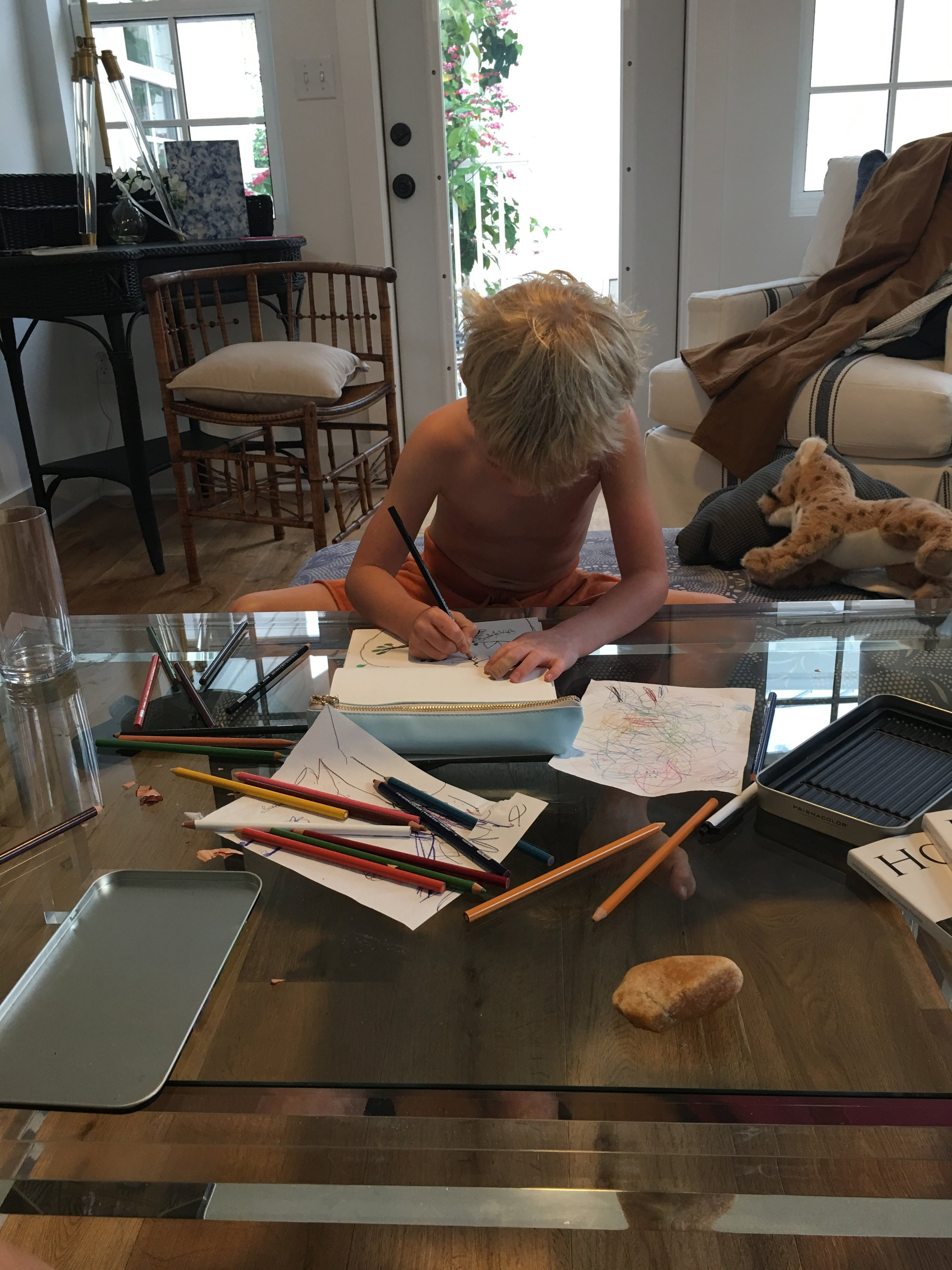 Becoming an author, Part One.