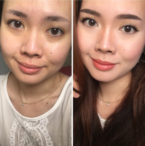 Before/After for nose contour!