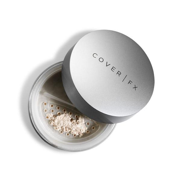 - Cover FX Illuminating setting powderIt's not totally matte but it set's foundation in a beautifully natural way.
