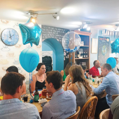 baby shower at ginger and pickles