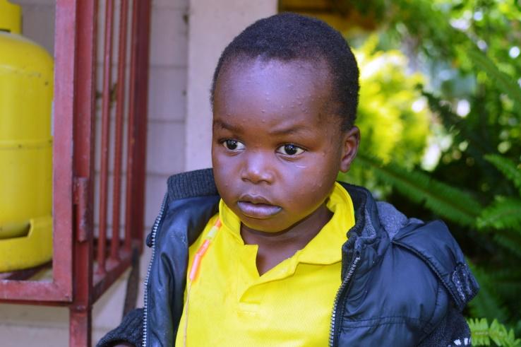 Kudakwashe Ndekwere - 16 Feb 2018 - DOB: Not known, Runyararo uses 14 March 2014He is doing preschool –ECD AHe came on 27 September 2016 at the same time with his sister Nyasha.