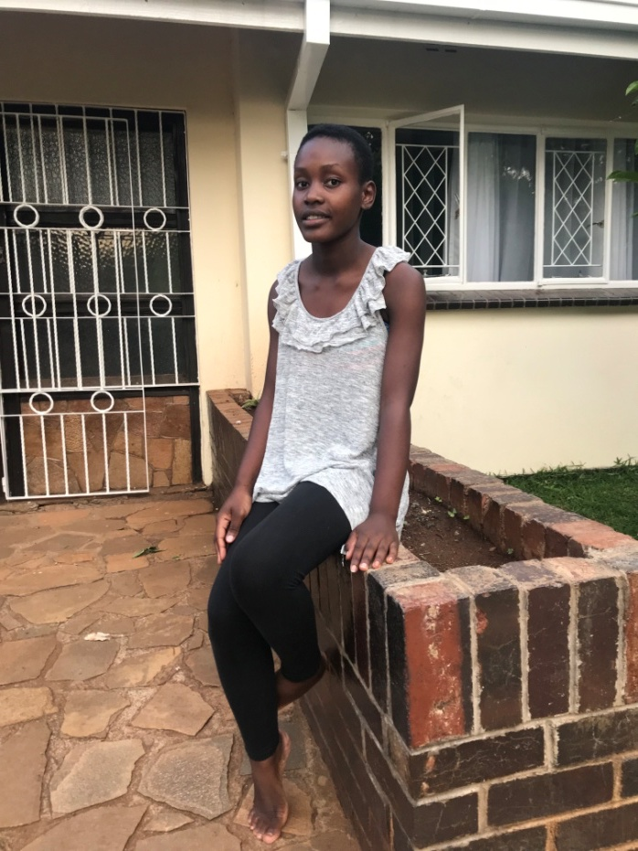 6 Feb 2019 update - Following the aging out of Tatenda, Rutendo is now the eldest child at Runyararo. She is now in Form 4. The caregivers are pleased with her discipline at home and her diligence at school. She going to writing defining public exams this year and we are praying for the best for her.