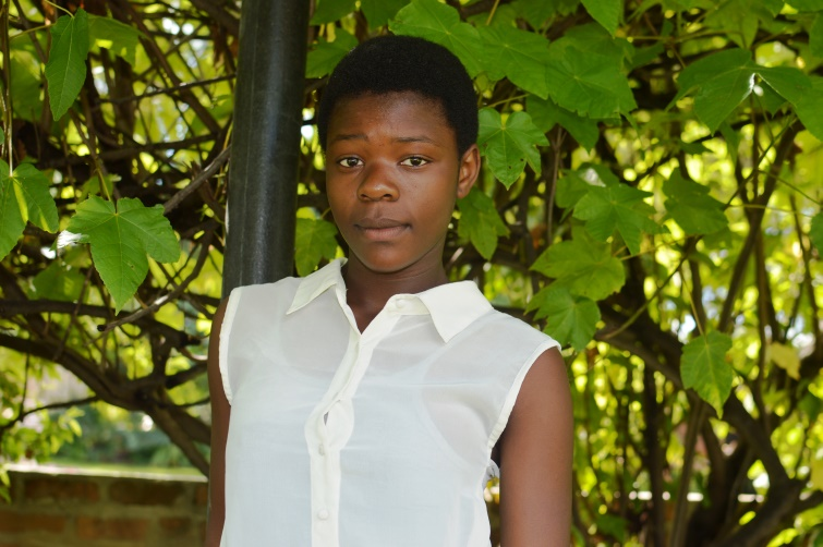 Blessing Madzvamuse - 16 Feb 2018 - Born: 11 September 2004Came on the 12th of November 2014Doing Form 2 at Marborough High School. She is a good soccer player