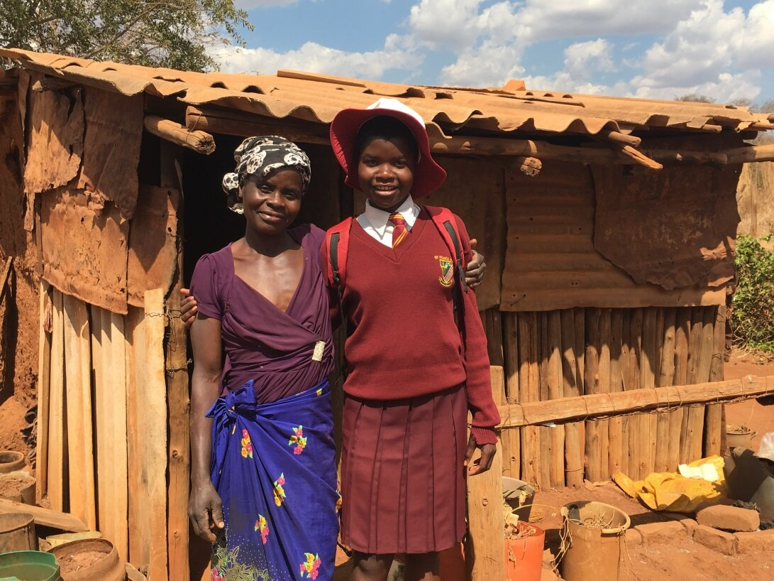 We visited Rachel and her mother in Chegutu in August, and they were all thrilled at the prospect of this opportunity for Rachel.