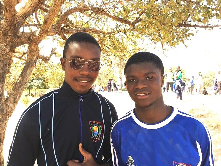 """Two boys, Tonnex White and Christopher Zifa, who have shown particular promise, are now at Mt St Mary's, a Catholic Boarding school in the Wedza area. They are taking the all-important """"O"""" levels this year which will decide whether they are candidates to go to """"A"""" level, the university track."""