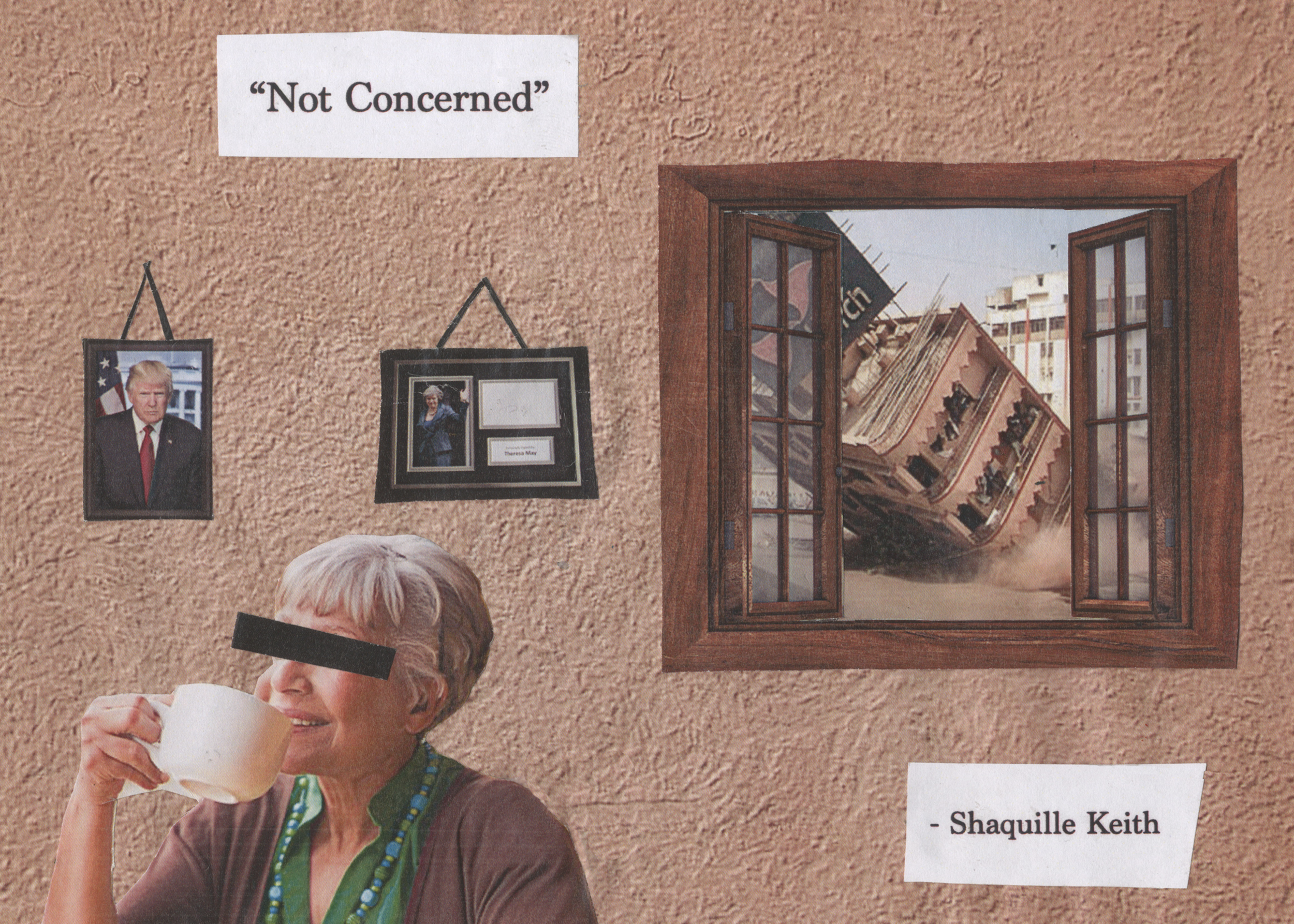 Not Concerned - By Shaquille-Aaron Keith (2017)