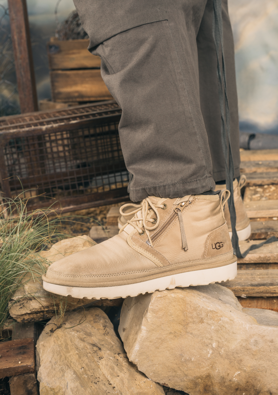 UGG in Europe campaign.