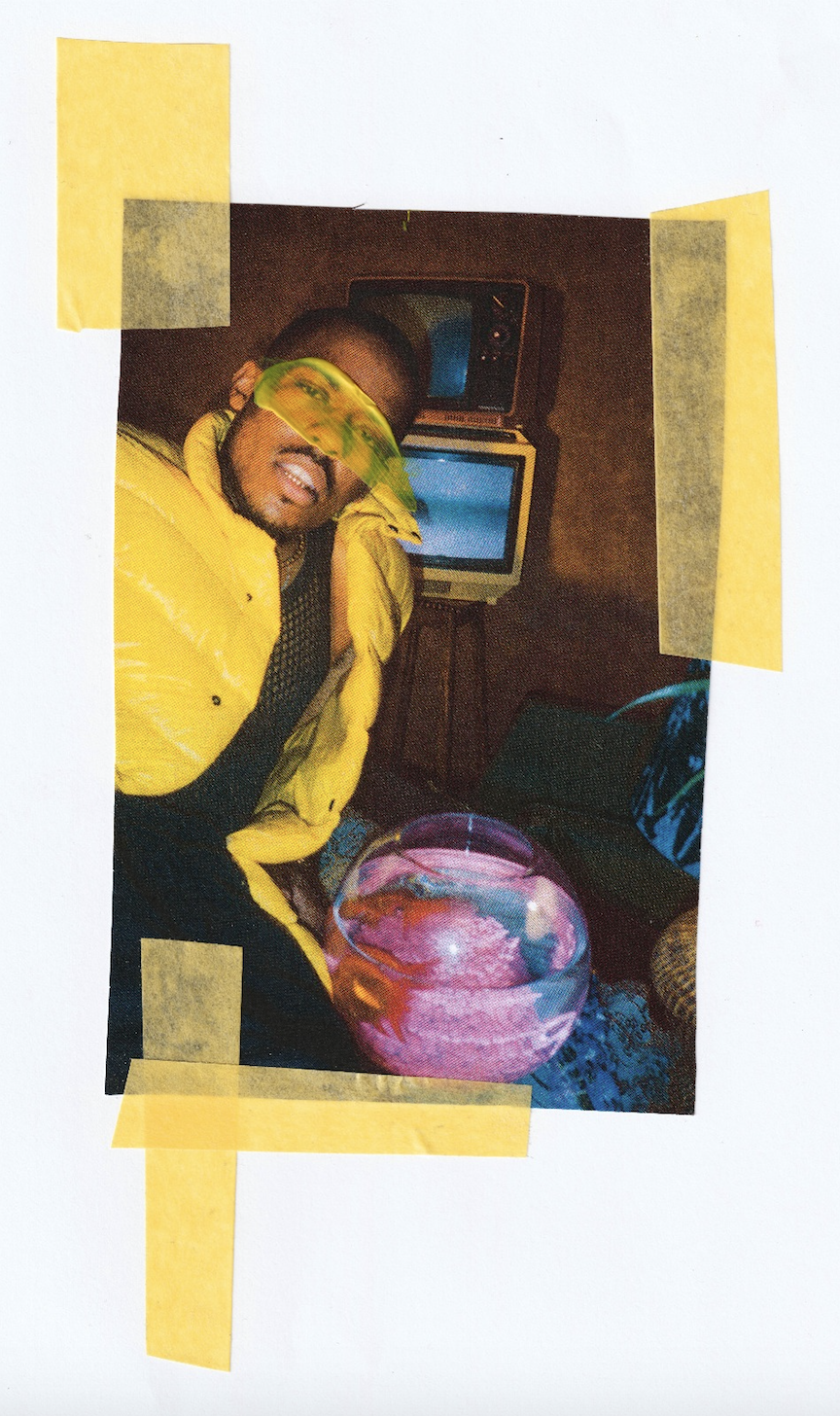 LE3's world - Shot by Sabb Adams, Collaged by Shaquille-Aaron Keith (2018)