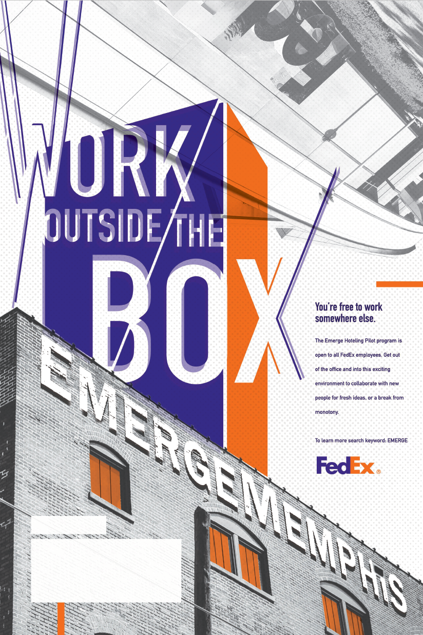 Poster for FedEx Emerge Memphis