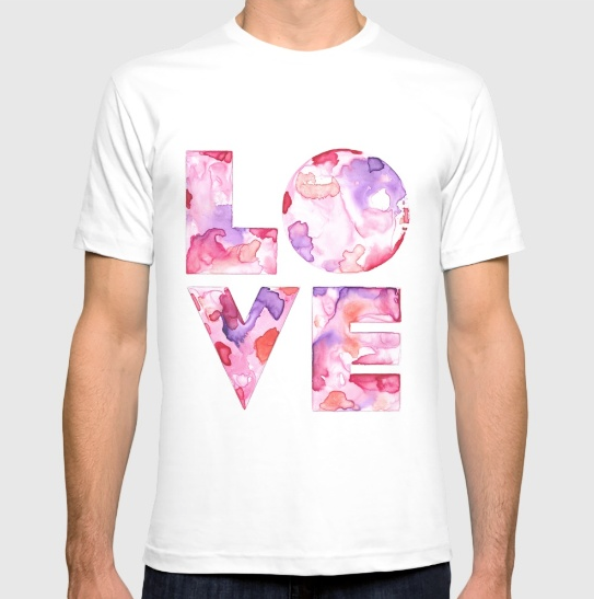 LOVE / T-shirt / $24