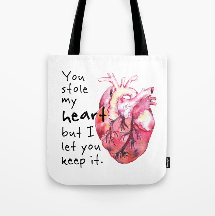 Stolen Heart / Tote Bag / $18