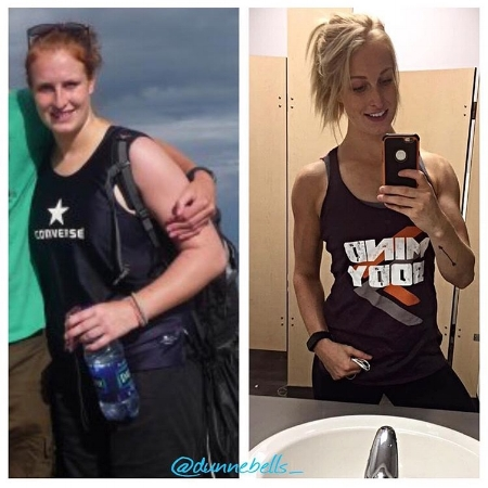 My shoulder transformation. You can do whatever you set your mind to!