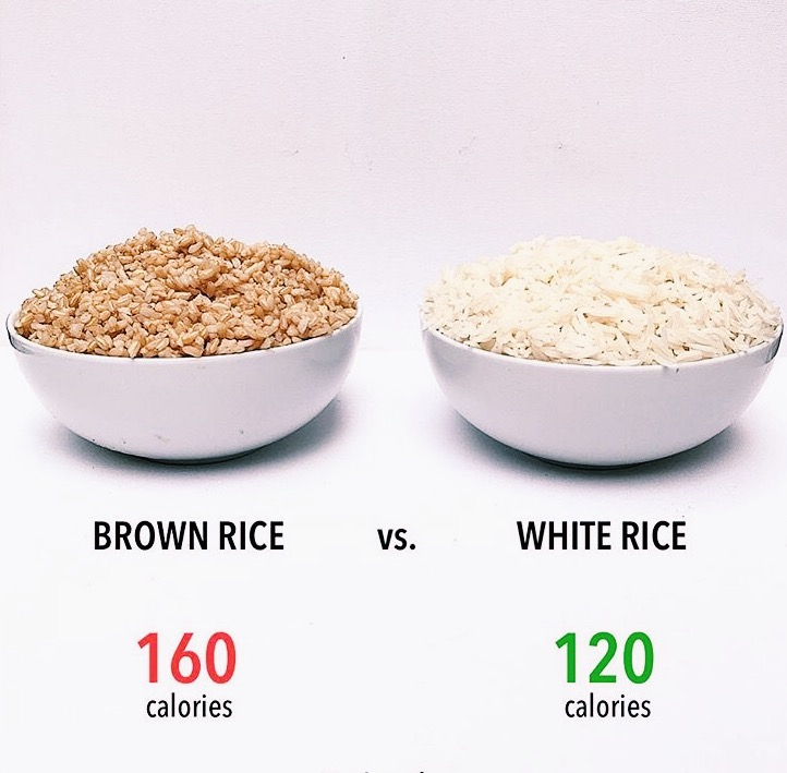Dunnebells - rice vs brow rice.JPG
