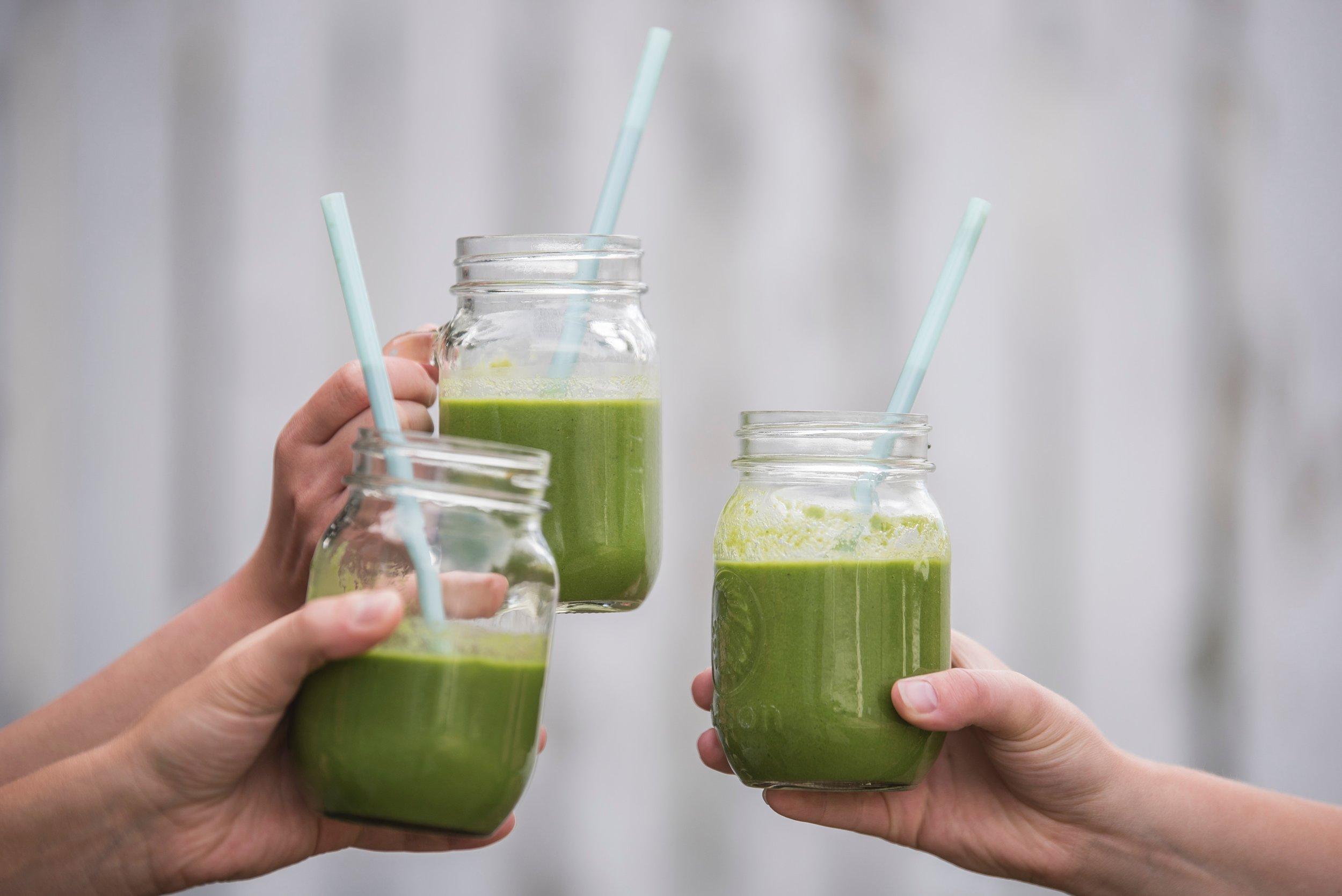Green packed collagen protein smoothie 1.jpg