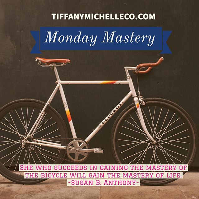 What are some things you are working on mastering this week in your business? I'm working on mastering being able to focus on one idea at a time. #mondaymastery