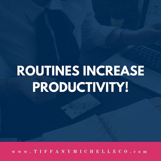 Do you have a routine for everything you do in your business or are you just winging it as you go along?  #productivity #automation #launch #onlinebusiness #projectmanager #projectmanagement #outsource #needhelp