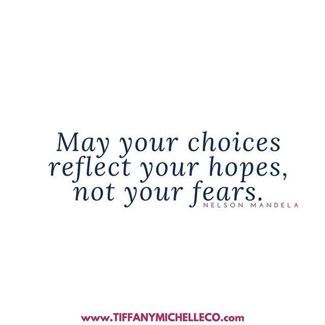 Let's make decisions and moves based on what we want not what we fear. #growth #business #virtualassistant #projectmanager #socialmediamanager