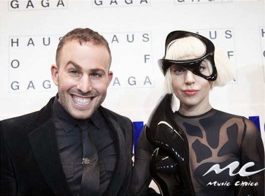 Micah Jesse and Lady Gaga