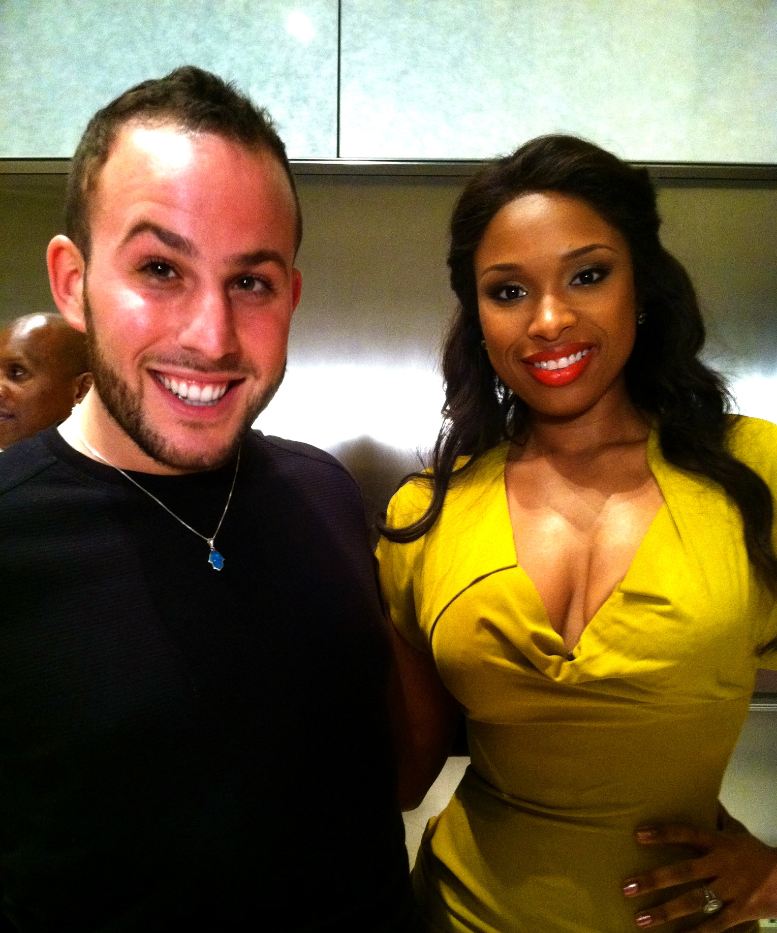 Micah Jesse and Jennifer Hudson