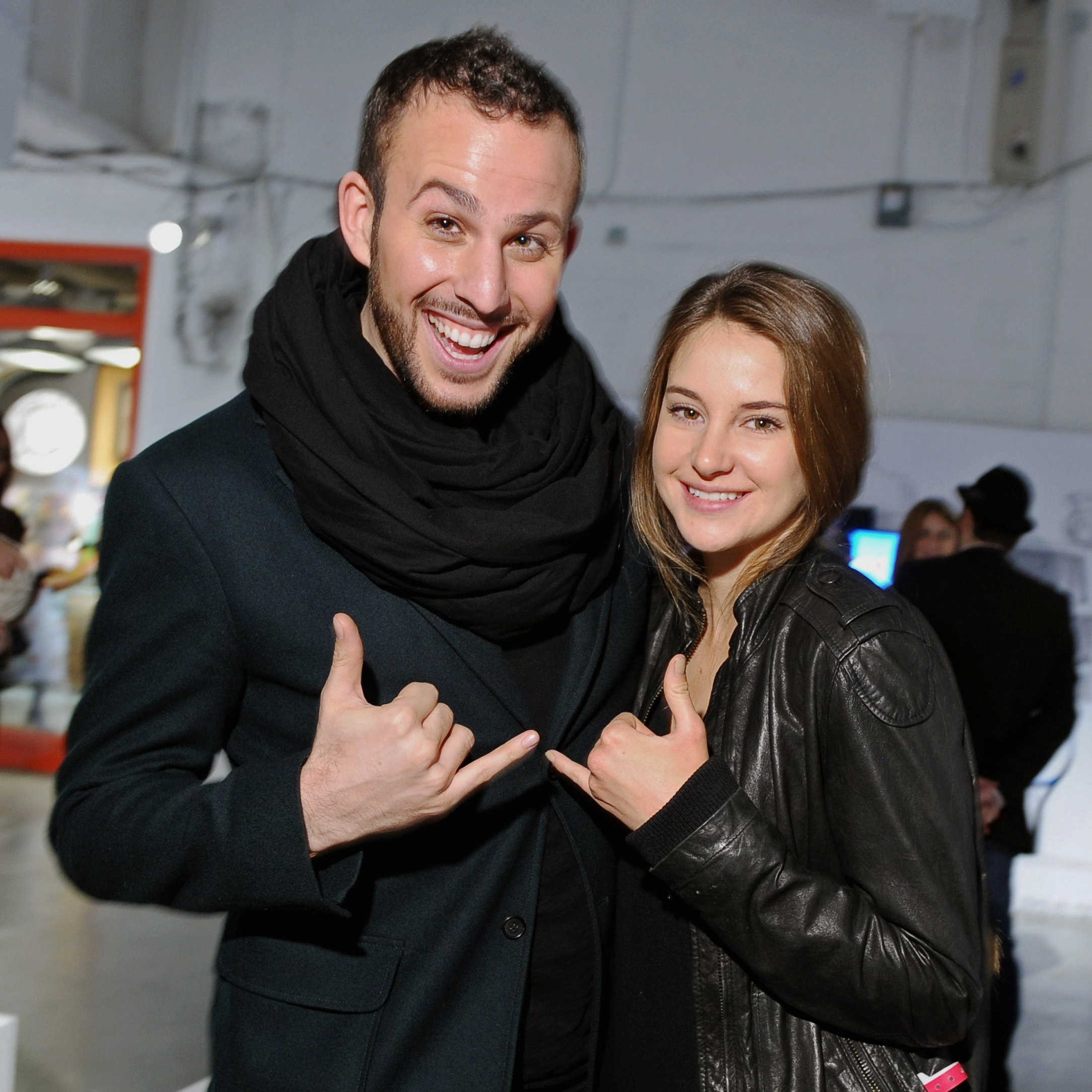 Micah Jesse and Shailene Woodley