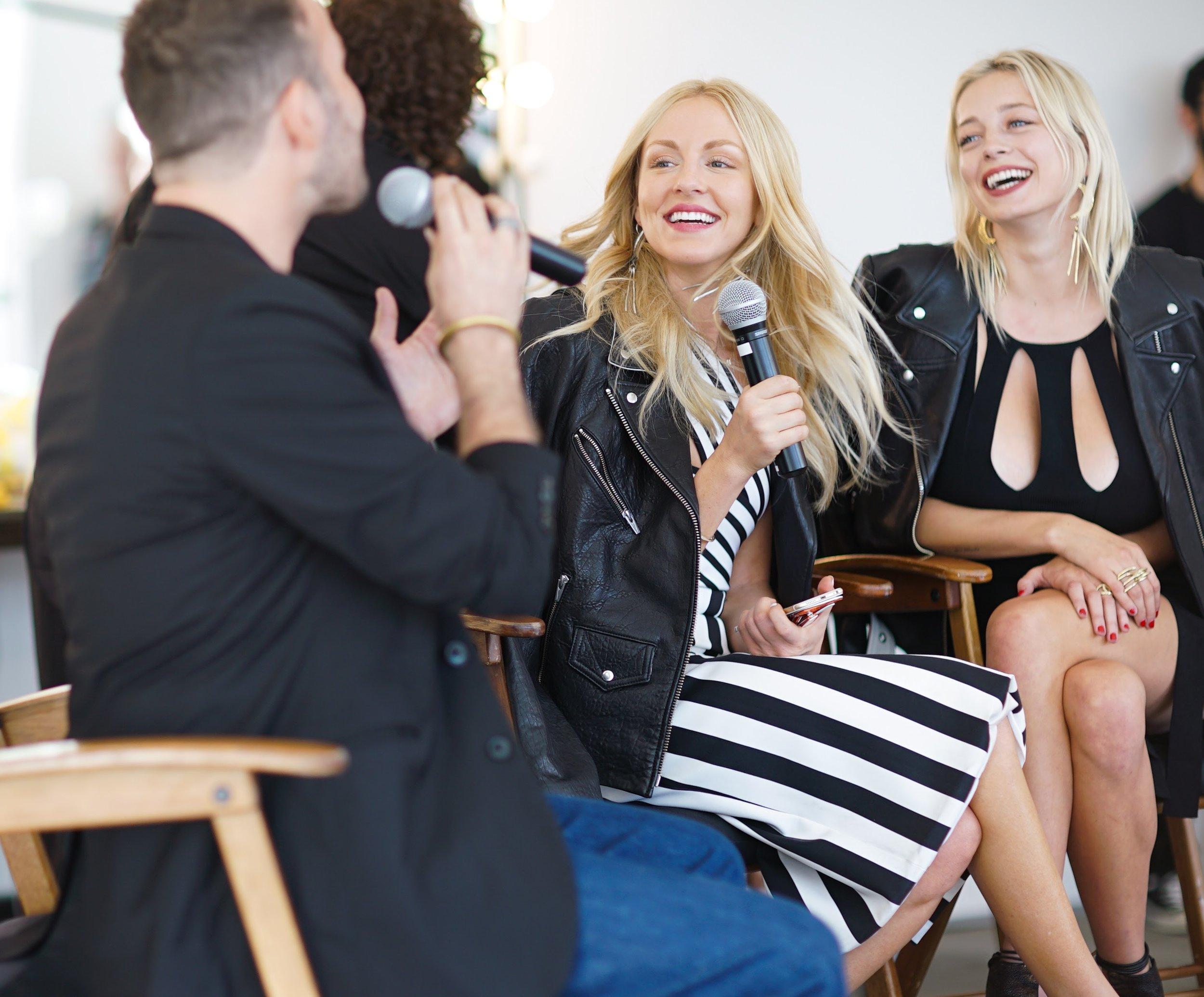 Micah Jesse interviews Caroline Vreeland and Shea Marie