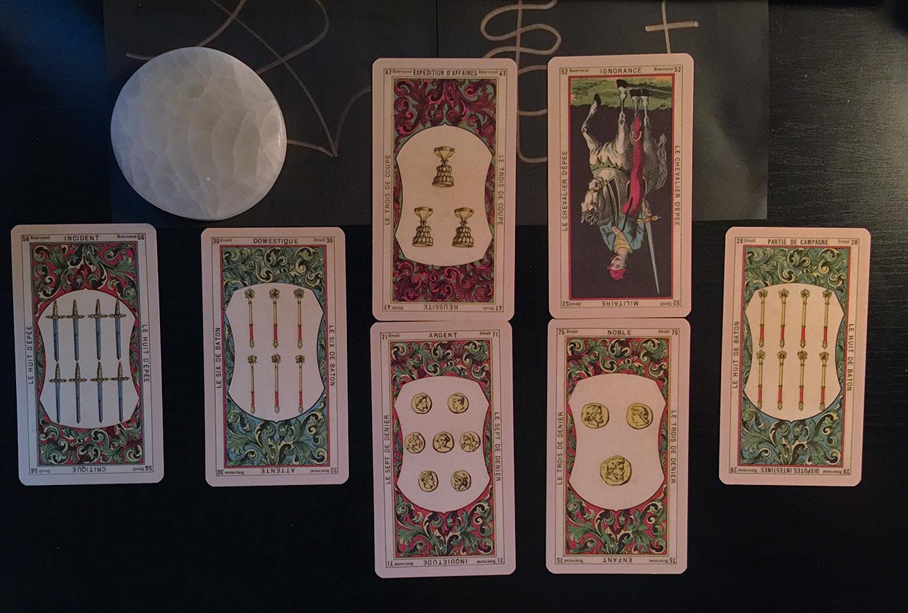 Six Controversies Tarot Spread