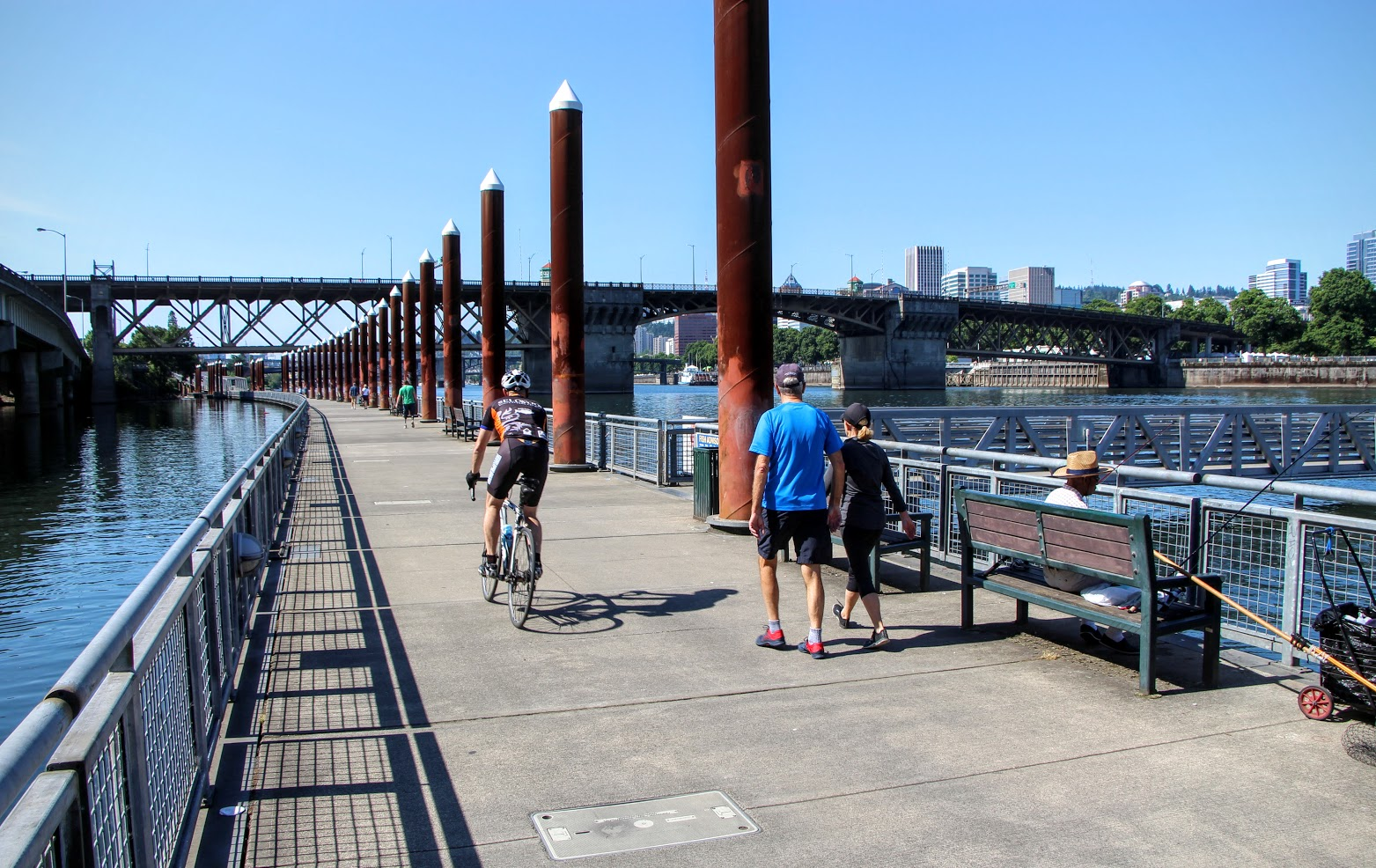 Eastbank Esplanade - a paradise for activity lovers!