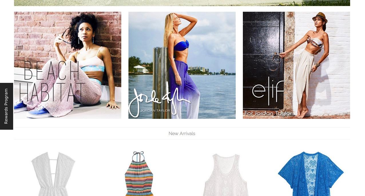 Photoshoot for Elif by Jordan Taylor Beachwear
