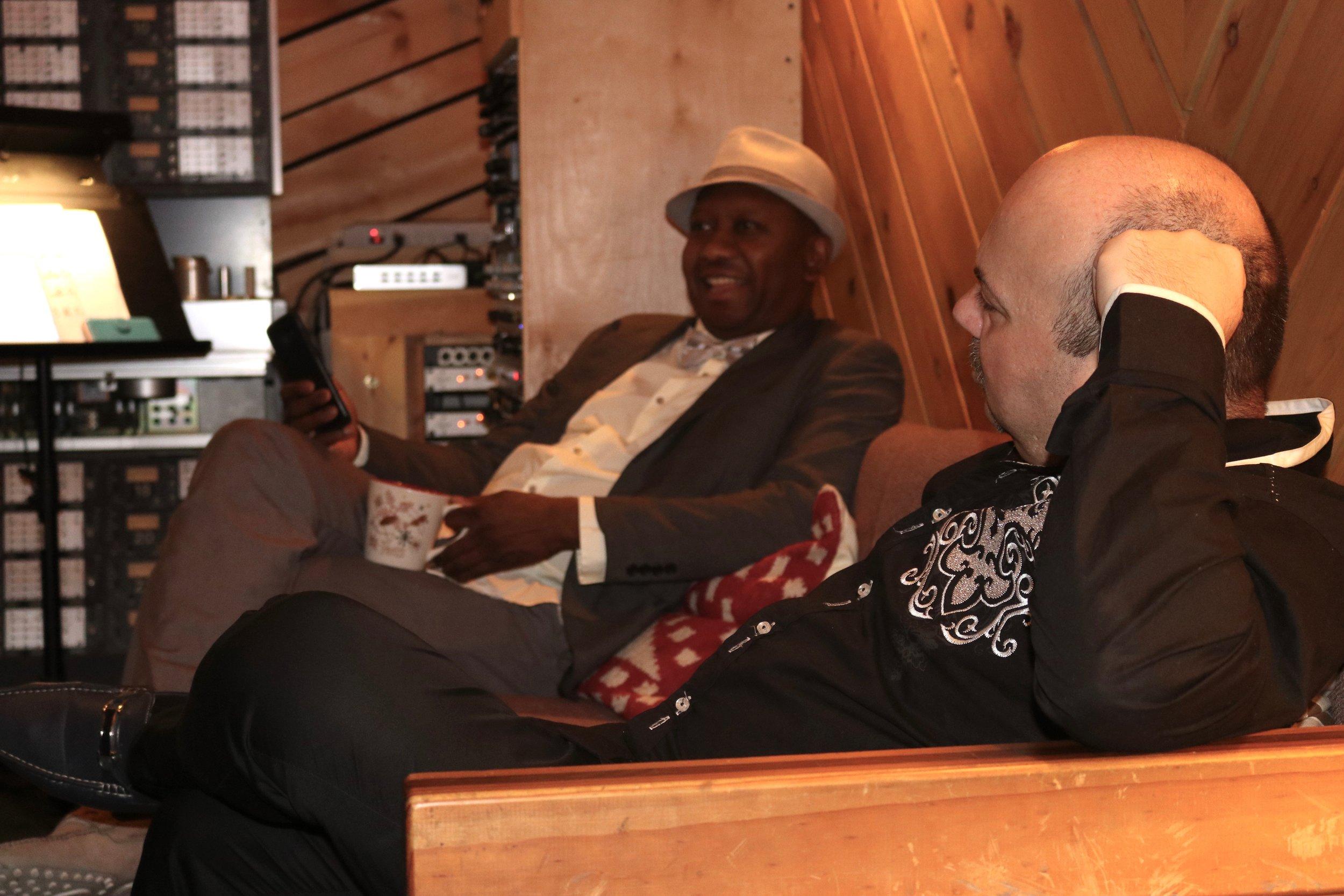 Ron Jackson and guest Yaacov Mayman
