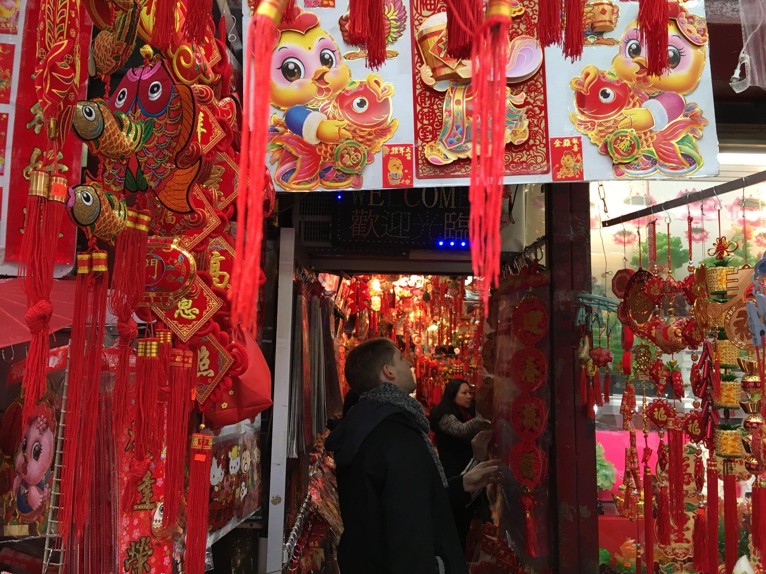 Chinatown Storefront