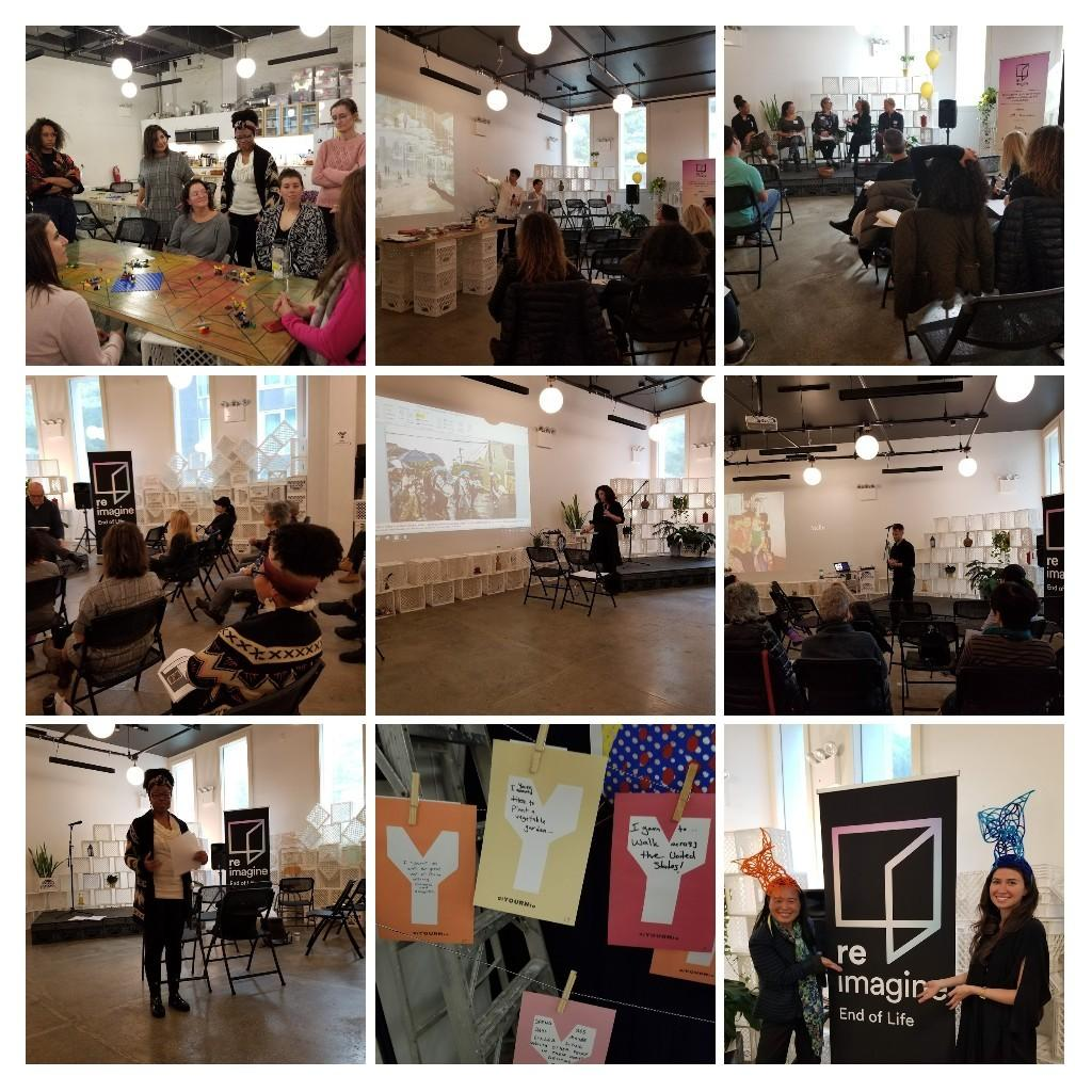 Workshop Facilitation during Re:Imagine Week NYC