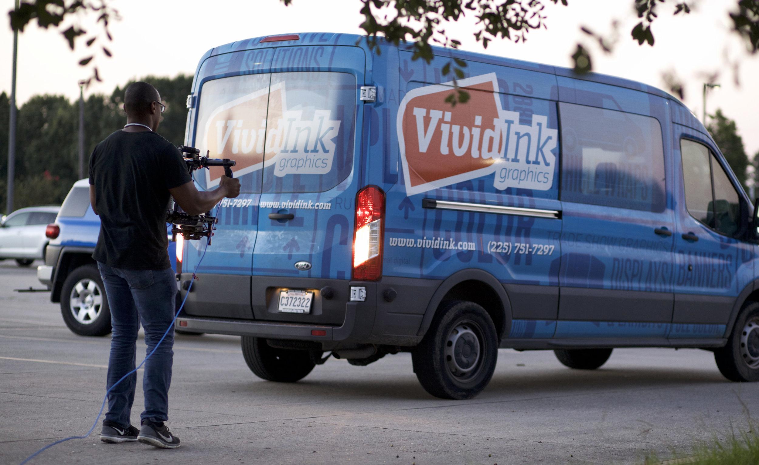 Vivid Ink Van Photo