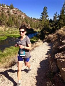 Monkey Face Half trail run on River Trail