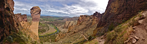 Misery-Ridge-Trail-Loop at Smith Rock State Park