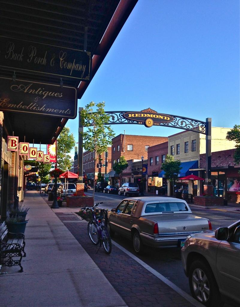 downtown Redmond