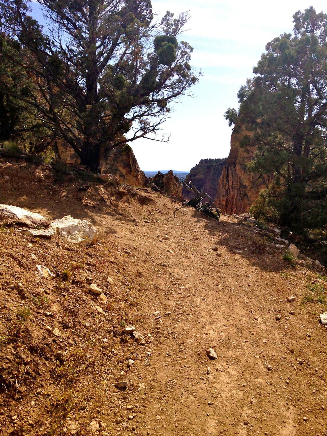More views are presented at every turn on the Summit Trail at Smith Rock State Park.