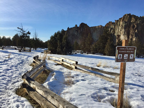 Lots of spots open for winter camping at the Bivy